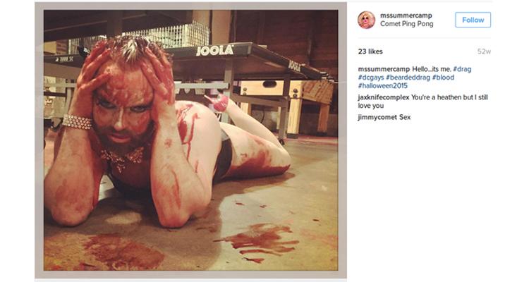 Instagram del establecimiento Comet Ping Pong - hipersexualización