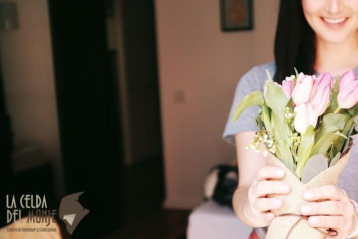 Regalar flores - Relacion