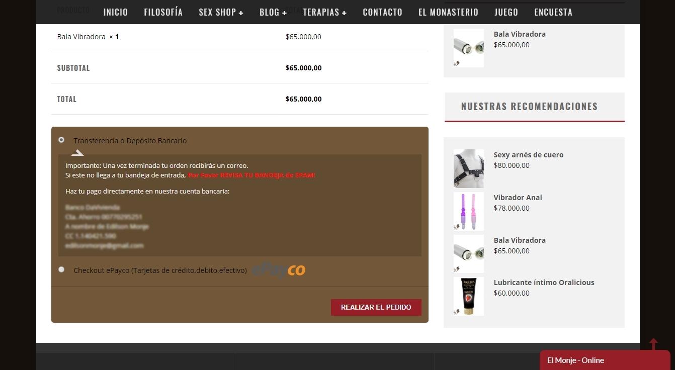 Cómo comprar - paso 8